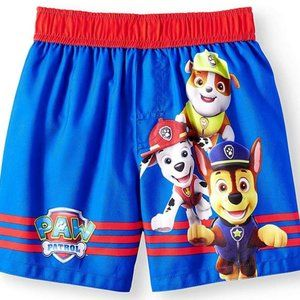 Paw Patrol Blue Swim Short Trunk